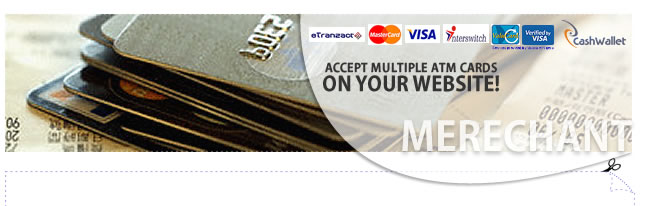 ACCEPT MULTIPLE ATM CARDS ON YOUR WEBSITE